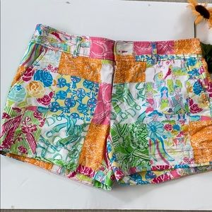 Lilly Pulitzer Original Grandstand Patch Shorts 8